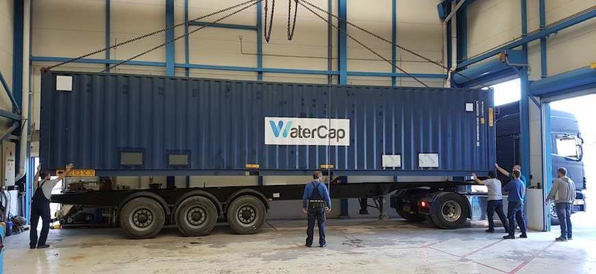 WaterCap brings the first state-of-the-art, containerised desalination plant to Somalia